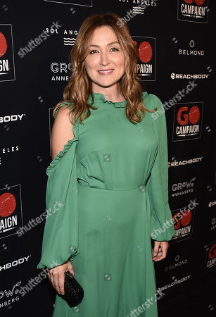 Sasha Alexander attends the GO Campaign 2018 Gala.