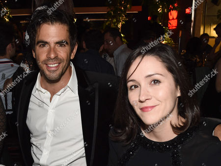 Eli Roth and Shannon Marie Woodward attend the GO Campaign 2018 Gala.