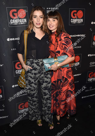 Clara McGregor and Eve Mcgregor attend the GO Campaign 2018 Gala.