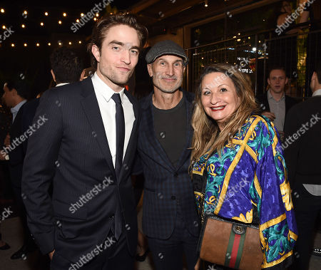 Robert Pattinson, Craig Gillespie and Jill Goldman attend the GO Campaign 2018 Gala.