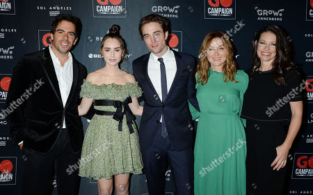 Eli Roth, Lily Collins, Robert Pattinson, Sasha Alexander and Evangeline Lilly