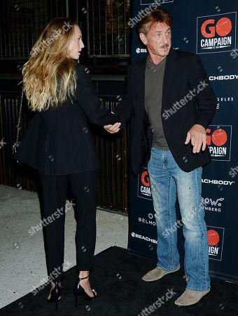 Sean Penn and Dylan Penn