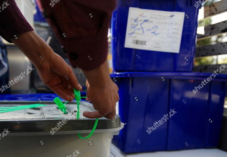 Afghanistan parliamentary elections Stock Photos (Exclusive