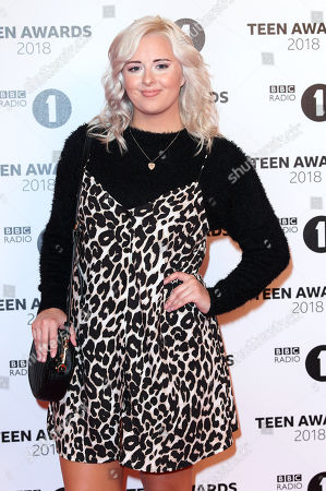 Editorial picture of BBC Radio 1's Teen Awards, SSE Arena Wembley, London, UK - 21 Oct 2018