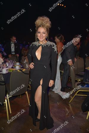 Erika Ender attends the 6th Annual Latin Songwriters Hall Of Fame La Musa Awards at James L Knight Center