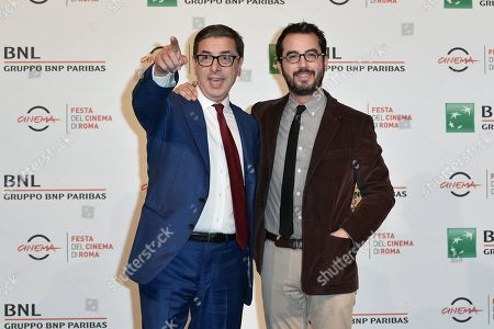 Editorial picture of Jonathan Safran Foer photocall, Rome Film Festival, Italy - 20 Oct 2018