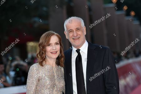 Isabelle Huppert and Toni Servillo