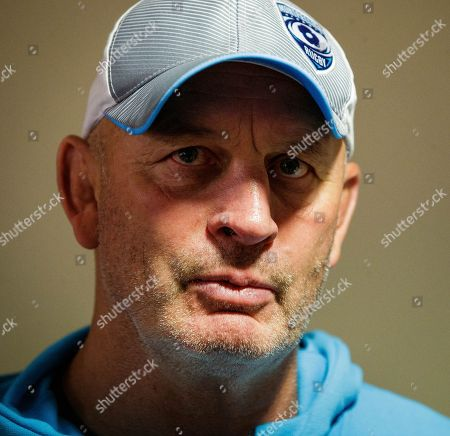 Newcastle Falcons vs Montpellier. Montpellier head coach Vern Cotter