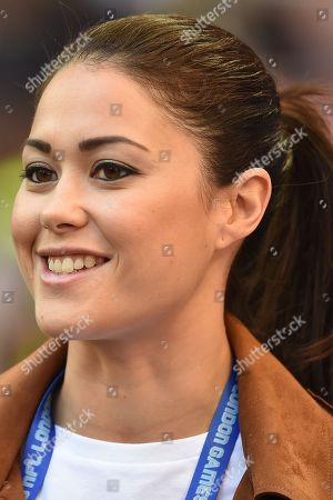 Sam Quek MBE during the International Series match between Tennessee Titans and Los Angeles Chargers at Wembley Stadium, London