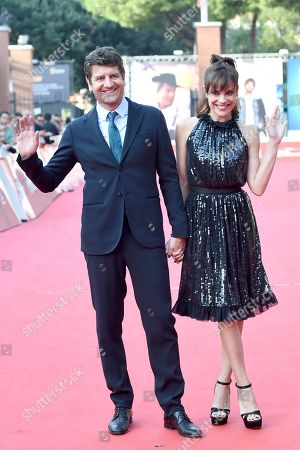 Micaela Ramazzotti and Fabio De Luigi