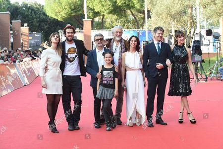 Editorial picture of 'Ti presento Sofia' premiere, Rome Film Festival, Italy - 20 Oct 2018