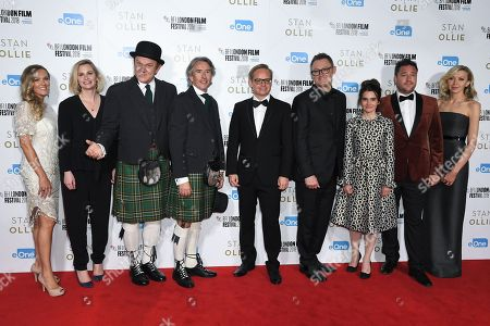 Amanda Nevill, Cassidy Cook, Faye Ward, John C Reilly, Steve Coogan, Jon S Baird, Jeff Pope, Shirley Henderson, Rufus Jones and Tricia Tuttle