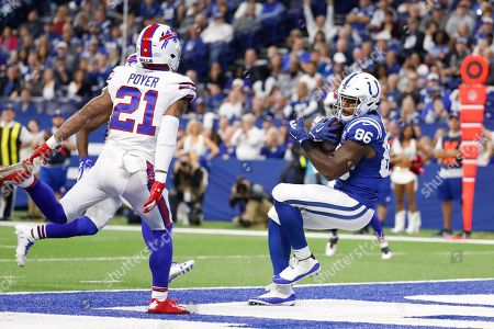 Editorial image of Bills Colts Football, Indianapolis, USA - 21 Oct 2018