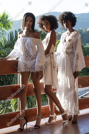 Stock Picture of Crystal Noriega, Naomi Chin Wing, Michelene Auguste