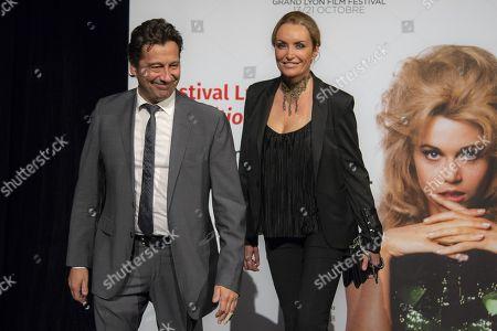 Laurent Gerra and Christelle Bardet