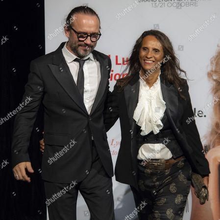 Vincent Perez and Karine Silla