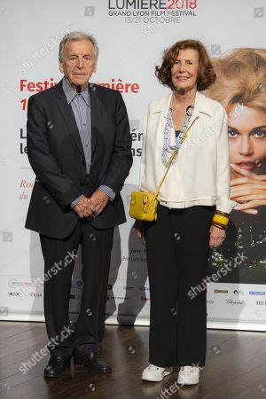 Constantin Costa-Gavras and Michele Ray Gavras