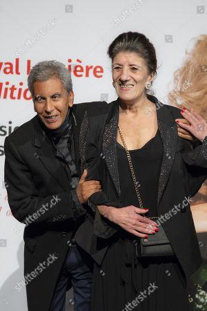 Rachid Bouchareb and Biyouna