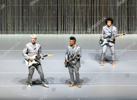 David Byrne at Leeds Arena on the first night of his American Utopia tour