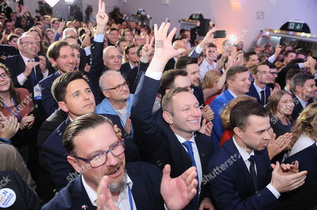 Editorial image of Local elections, Poland - 21 Oct 2018