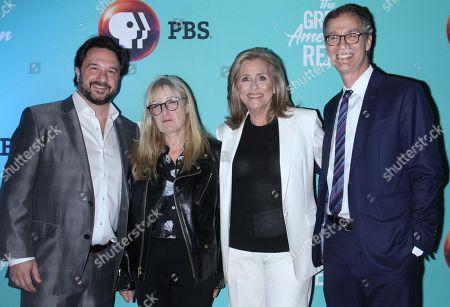 Bill Gardner, Jane Root, Meredith Vieira, Jonathan Barzilay