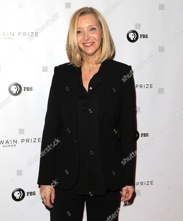 Lisa Kudrow arrives at the Kennedy Center for the Performing Arts for the 21st Annual Mark Twain Prize for American Humor presented to Julia Louis-Dreyfus, in Washington, D.C
