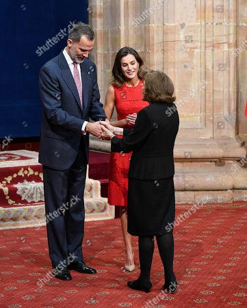 King Felipe VI of Spain, Queen Letizia, Sylvia Earle