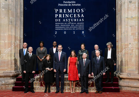 Sylvia Earle, King Felipe VI of Spain, Queen Letizia, Martin Scorsese
