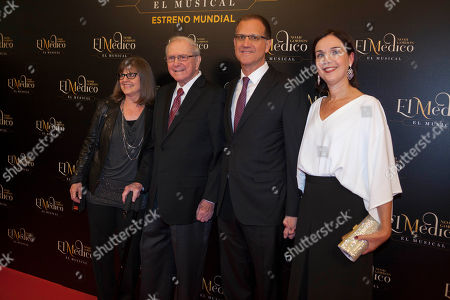 Editorial image of 'El Medico' musical premiere, Madrid, Spain - 17 Oct 2018
