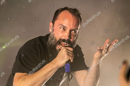 Editorial photo of Clutch in concert at The Fillmore, Detroit, USA - 20 Oct 2018