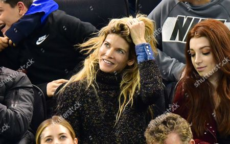 Editorial picture of Celebrities at New York Rangers v Calgary Flames, NHL ice hockey match, Madison Square Garden, New York, USA - 21 Oct 2018