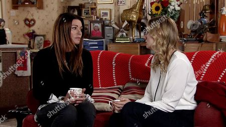 Ep Ep 9609 Friday 9th November 2018 - 2nd Ep  Elsa, as played by Kelly Harrison, sees Carla Connor, as played by Alison King, getting out of Nick's car and follows her to Roy's flat to speak to her. Carla reveals that she is Nick's business partner.