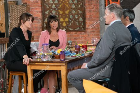 Ep Ep 9607 Wednesday 7th November 2018 - 2nd Ep  Circuit Judge Leonard joins Paula, as played by Stirling Gallacher, Julian and Sophie Webster, as played by Brooke Vincent, in Speed Daal. As the 'in jokes' fly Sophie's sidelined and when Leonard pushes his glass towards her, expecting her to fill it, Sophie loses her rag. Paula points out she's just insulted the Judge who could preside over Sally's trial, Sophie's heart sinks.