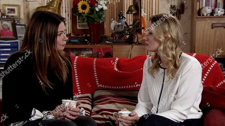 Ep 9609 Friday 9th November 2018 - 2nd Ep  Elsa, as played by Kelly Harrison, sees Carla Connor, as played by Alison King, getting out of Nick's car and follows her to Roy's flat to speak to her. Carla reveals that she is Nick's business partner.