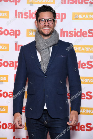 Editorial photo of Inside Soap Awards, London, UK - 22 Oct 2018