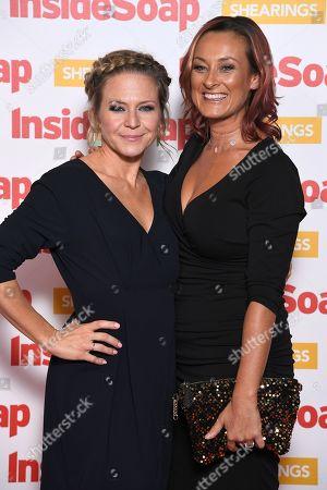 Kellie Bright and Luisa Bradshaw-White