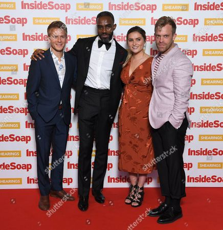 Editorial image of Inside Soap Awards, London, UK - 22 Oct 2018