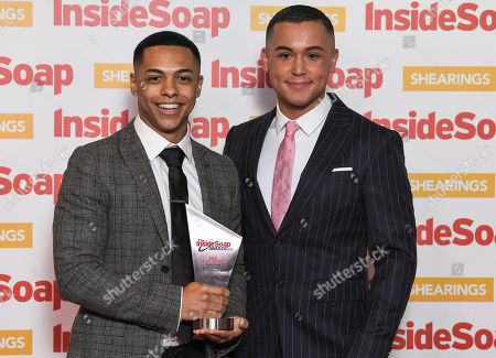 Editorial picture of Inside Soap Awards, London, UK - 22 Oct 2018