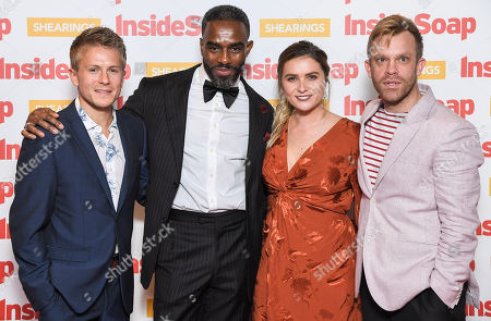 George Rainsford, Chucky Venn, Chelsea Halfpenny and William Beck