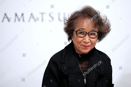 Japanese artist Fujiko Nakaya attends a press conference for the 30th Praemium Imperiale in Tokyo, Japan, 22 October 2018. The Praemium Imperiale is a global arts prize awarded annually by the Japan Art Association. Five laureates are nominated in the fields of Painting, Sculpture, Architecture, Music and Theatre/Film. For its 30th edition, the Praemium Imperiale awards have been given to French painter Pierre Alechinsky, Japanese artist Fujiko Nakaya, French architect Christian de Portzamparc, Italian conductor Riccardo Muti and French actress Catherine Deneuve. Pierre Alechinsky and Riccardo Muti didn't attend the press conference.