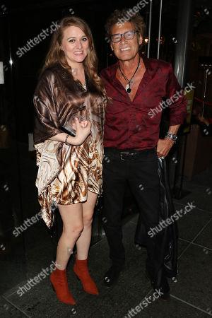 Kayla Tabish and Steven Bauer