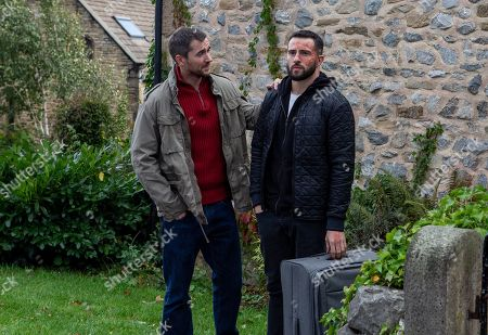 Ep 8303 Friday 2nd November 2018 Ross Barton, as played by Michael Parr, is upset but prepares to go alone, he says some emotional goodbyes. Will he really leave alone? With Pete Barton, as played by Anthony Quinlan.