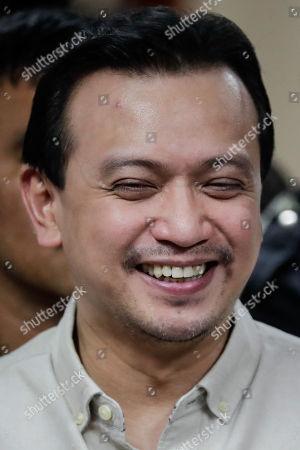 Editorial photo of Court denies arrest warrant for Philippine Senator Trillanes, Pasay City, Philippines - 22 Oct 2018