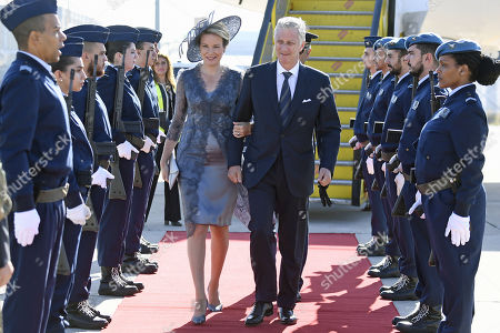 Belgian Royals visit to Portugal, Day 1