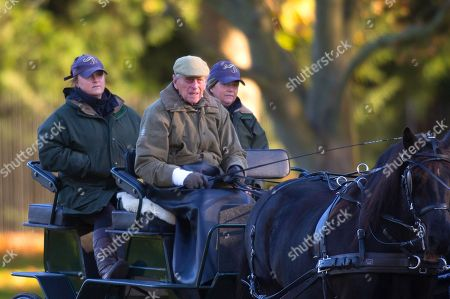 Prince Philip carriage driving at Windsor Castle
