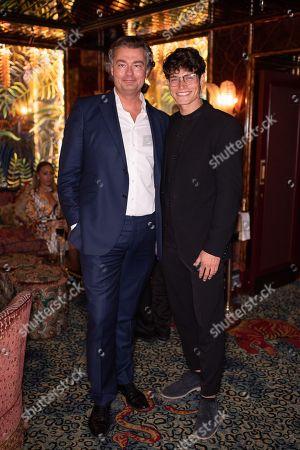 Laurent Feniou and Sam Way