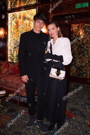 Sam Way and Victoria Pendleton