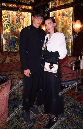 Stock Photo of Sam Way and Victoria Pendleton