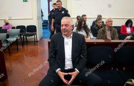 Editorial photo of Corruption, Zagreb, Croatia - 22 Oct 2018