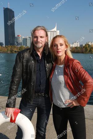 Stock Photo of Stefan Jürgens and Lilian Klebow